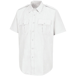 Mens - S/S Poly/Cotton Shirt