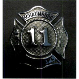 Firefighter Cap Badge - FF/PM