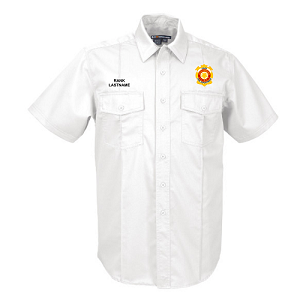5.11 Tactical | Short Sleeve NFPA 1975 Certified Station Shirt - CHIEF