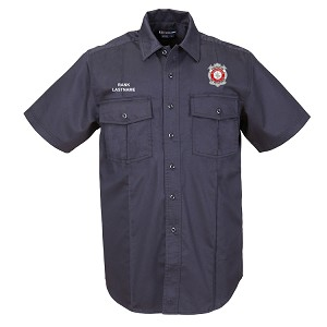 5.11 Tactical | Short Sleeve NFPA 1975 Certified Station Shirt - FF/PM