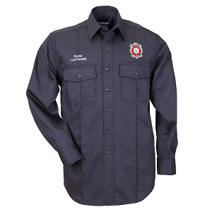 5.11 Tactical | Long Sleeve NFPA 1975 Certified Station Shirt - FF/PM