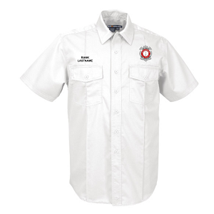 5.11 Tactical | Short Sleeve NFPA 1975 Certified Station Shirt - LT